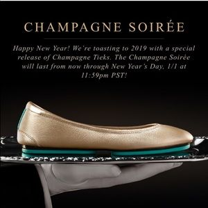 Champagne Tieks